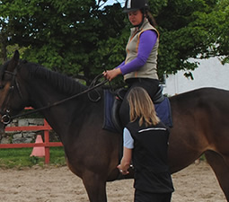 Centered Riding at Island View Riding Stables
