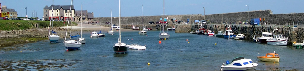 Pier Head Hotel and Mullaghmore Harbour