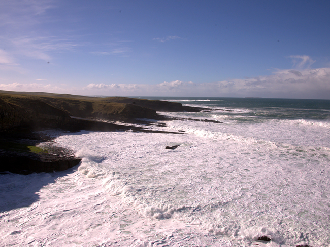 Waves at Mullaghmore