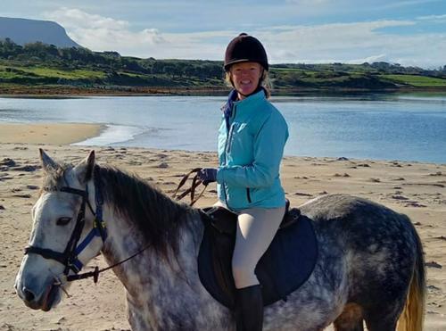 Auriel on Heritage on Horseback