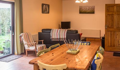 Sunrise lounge area